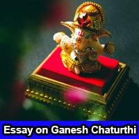 Essay on Ganesh Chaturthi in English