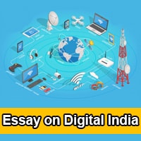 Essay on Digital India in English