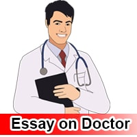 Essay on Doctor in English