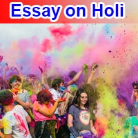 Essay on Holi in English