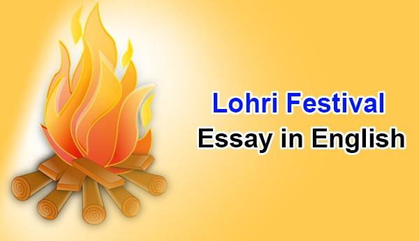 Essay on Lohri