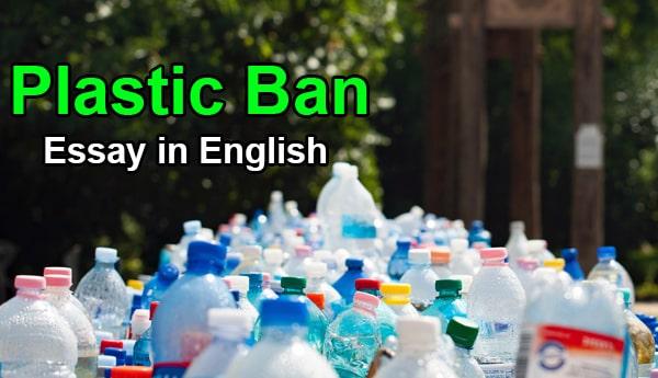 Essay on Plastic Ban