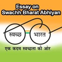 Essay on Swachh Bharat Abhiyan in English