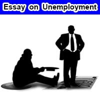 Essay on Unemployment in English