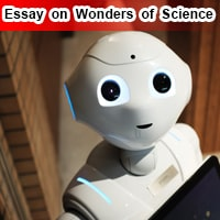 Essay on Wonders of Science in English