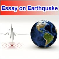 Essay on Earthquake in English