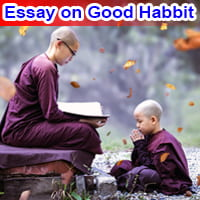 Essay on Good Habbit in English