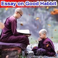 Essay on Good Habbit in English