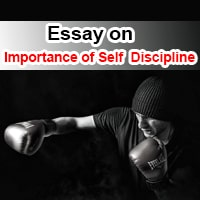 Essay on Importance of Discipline in English
