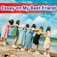 Essay on My Best Friend in English