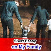 Short 10 line Essay on My Family in English