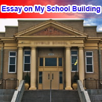 Essay on My School Building in English