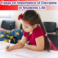 Importance of Discipline in Students Life in English
