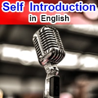 Self Introduction For School Students in English