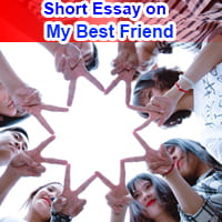 Short 10 Lines Essay on My Best Friend in English
