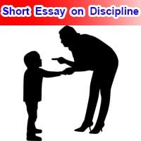 Short 10 line Essay on Discipline in English
