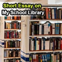 Short Essay on My School Library in English