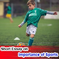 Essay on Importance of Sports in English