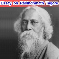 Essay on Rabindranath Tagore in English