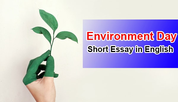 Short Essay on Environment Day