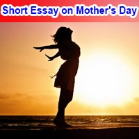 Short Essay on Mothers Day in English