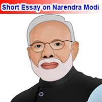 Short Essay on Narendra Modi in English