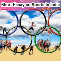 Short Essay on Sports in India in English