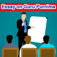 Essay on Guru Purnima in English