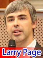 Larry Page Eighth Richest Person