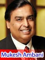 Mukesh Ambani Tenth Richest Person
