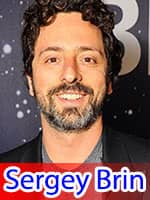 Sergey Brin Ninth Richest Person