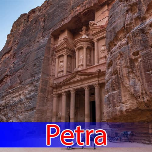 The New Seven Wonders of the World Petra
