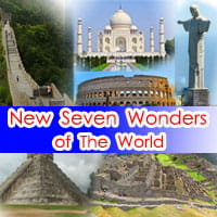 The New Seven Wonder of World in English